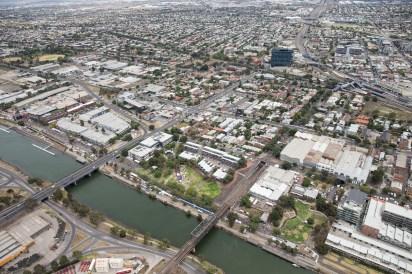 : Melbourne Laneway Festival Aerials