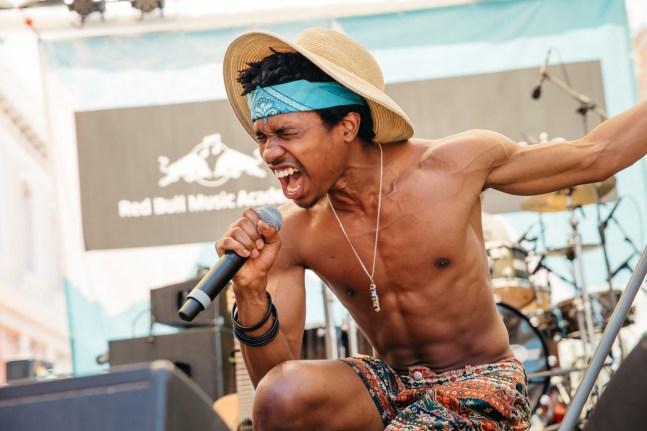 Laneway Festival Fremantle 2015 : Raury