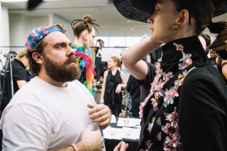: Romance Was Born MBFWA backstage 2015 Art Gallery of NSW Sydney