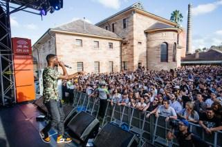 : GoldLink - Laneway Festival Sydney 2016 Sydney College of the Arts Rozelle