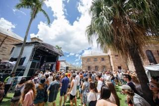 : Laneway Festival Sydney 2016 Sydney College of the Arts Rozelle