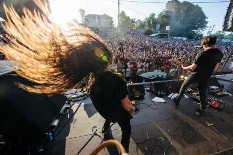 : Violent Soho - Laneway Festival Sydney 2016 Sydney College of the Arts Rozelle
