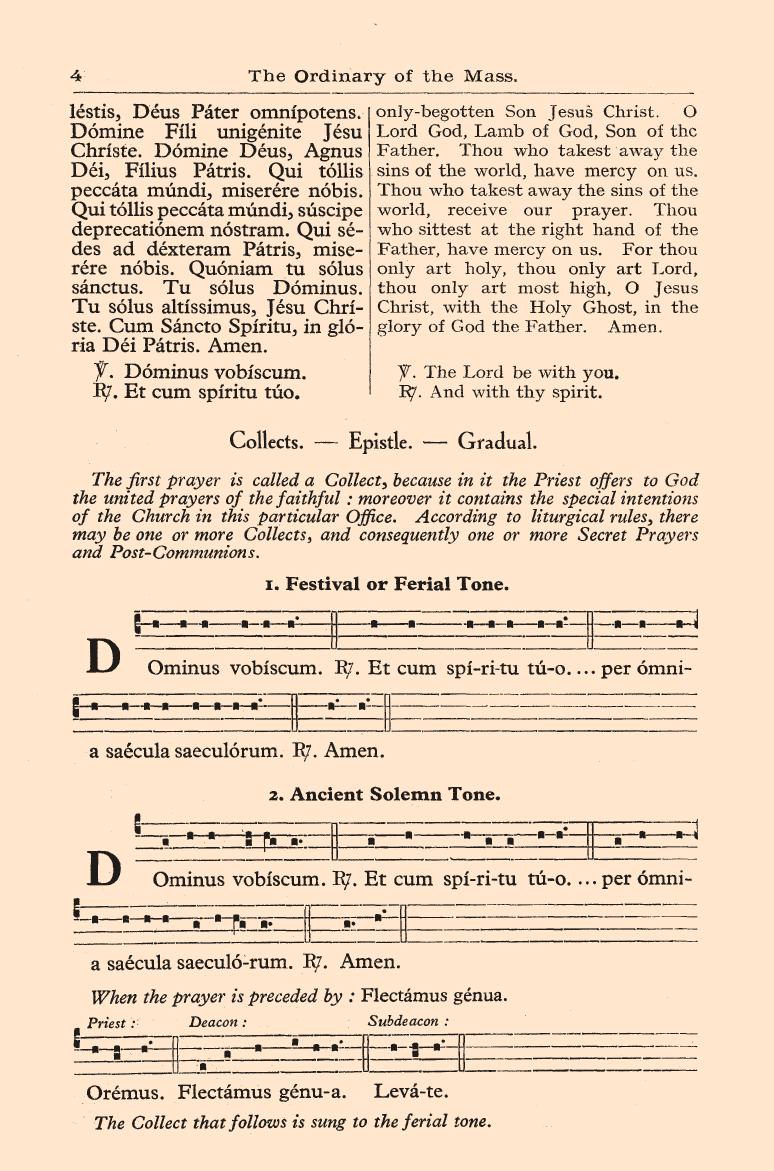 """Ordo Missae"" • In Latin & English (1957)"