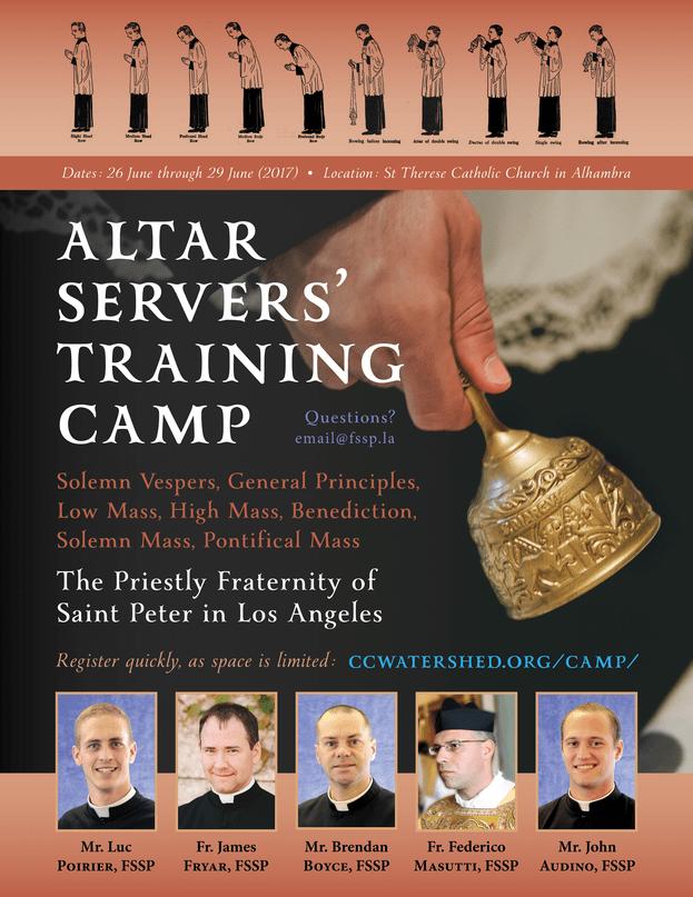 151 Server Camp Training Week AUDINO Seminarian