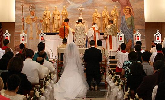 350 Tridentine Wedding