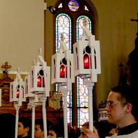 499 liturgical torchbearers lanterns