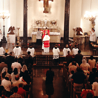 721 C Solemn Mass Los Angeles With Fr. John Berg