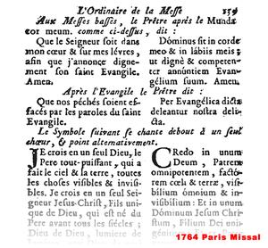 7215 Paris Missal