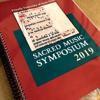 84001 Sacred Music Symposium