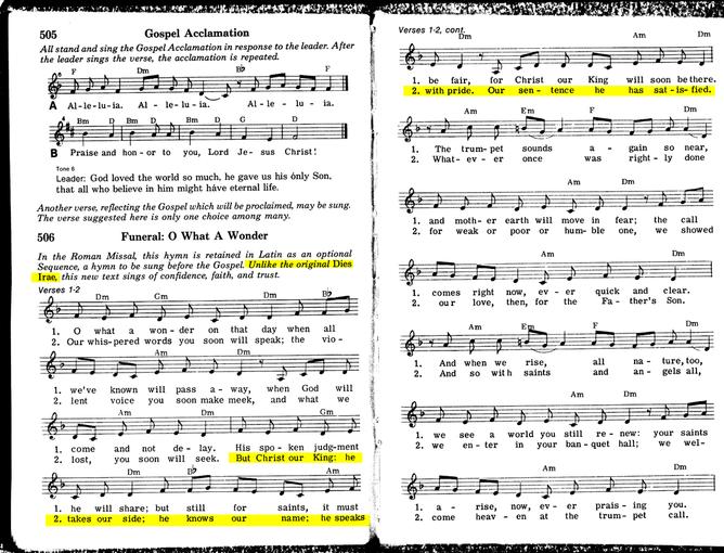 84887 American Catholic Hymnbook (1992)