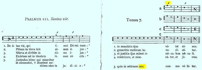88844 MODE 7 psalm tone