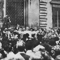 After the bombing near St John Lateran