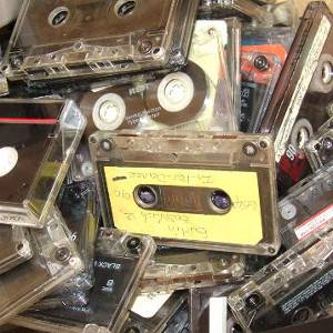 lots of tapes