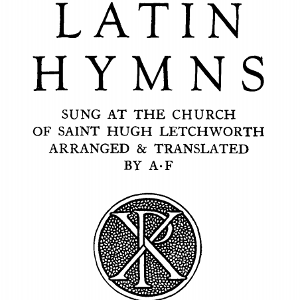 Latin Hymns Fortescue
