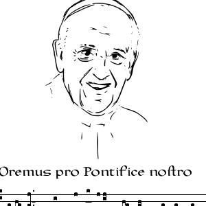 oremus pro pontifice francisco