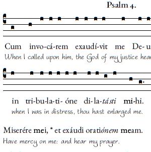 1st psalm sunday compline