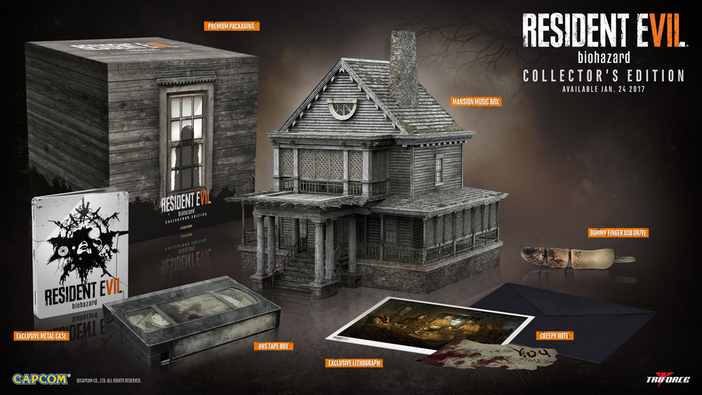 Resident Evil 7 Gamestop Exclusive