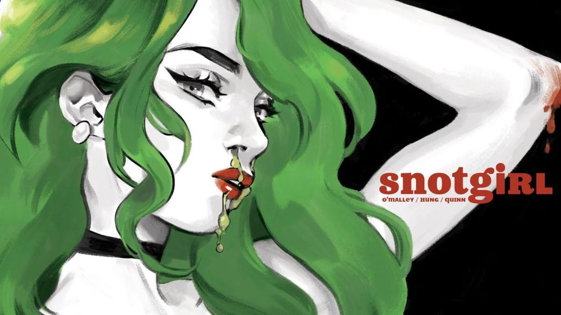 Snotgirl by Bryan Lee O'Malley and Leslie Hung
