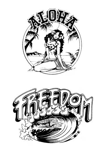 Rick Griffin  COTW Surf Artist