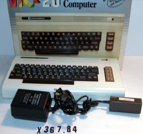 Commodore VIC-20   X367.84A-C   Computer History Museum