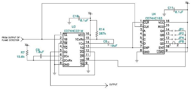 Flash-capacitor eases portable UV flame detector design
