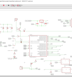also in this schematic i have designec a voltage regulator circuit outputs 5 volts to feed the microcontroller atmega 328p  [ 1920 x 1002 Pixel ]