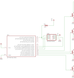 an eagle schematic to the unipolar stepper motor  [ 1296 x 786 Pixel ]