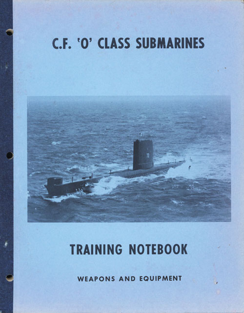 CF O Class Submarines  Weapons and Equipment