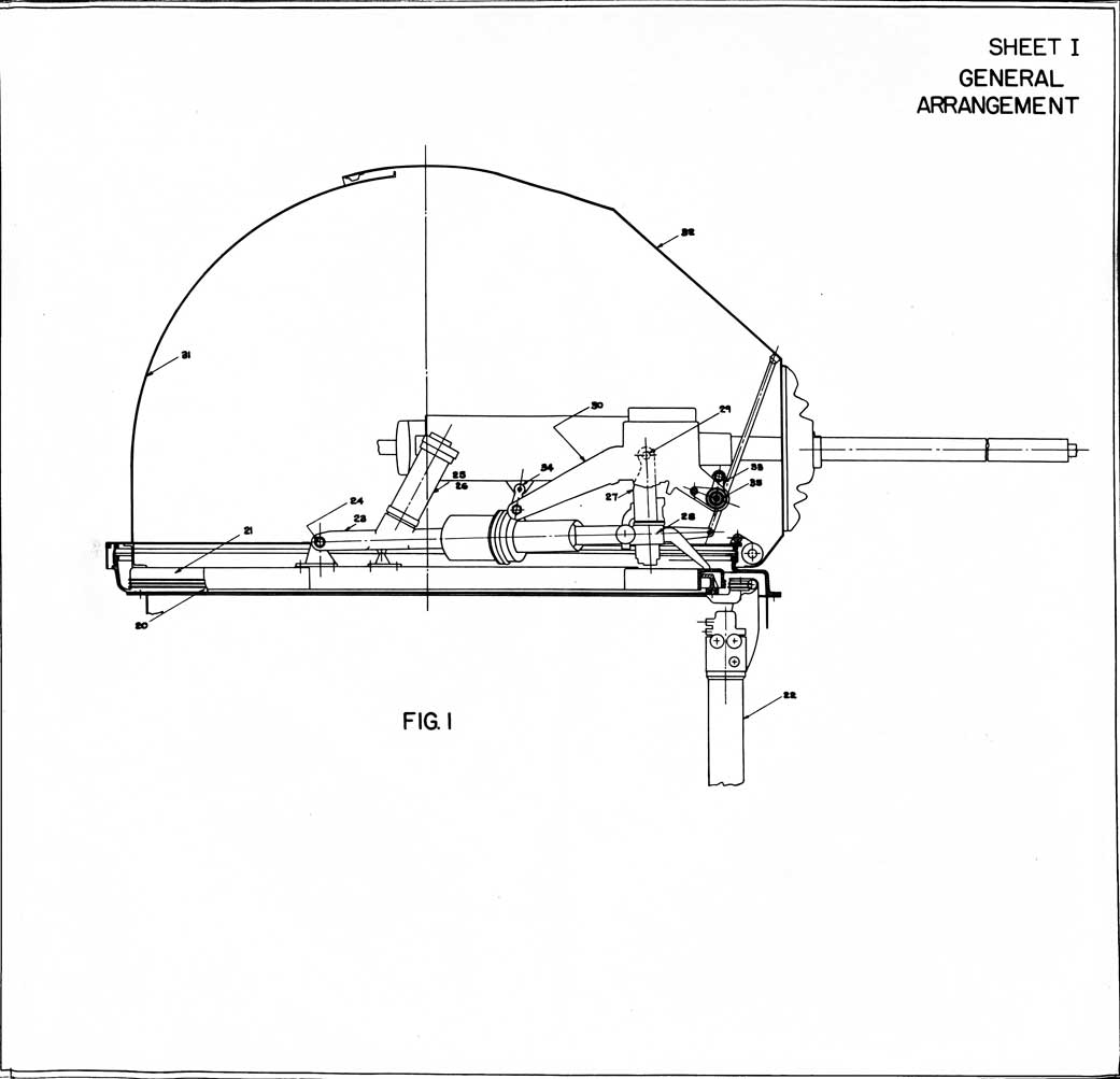 The Dewandre Elco Power Operated Machine Gun Turret