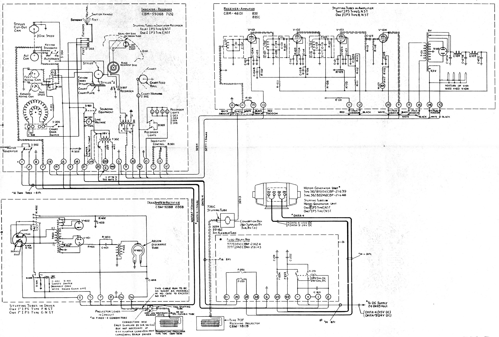 hight resolution of figure 15 6 schematic wiring diagram of the nj 9 sounding equipment