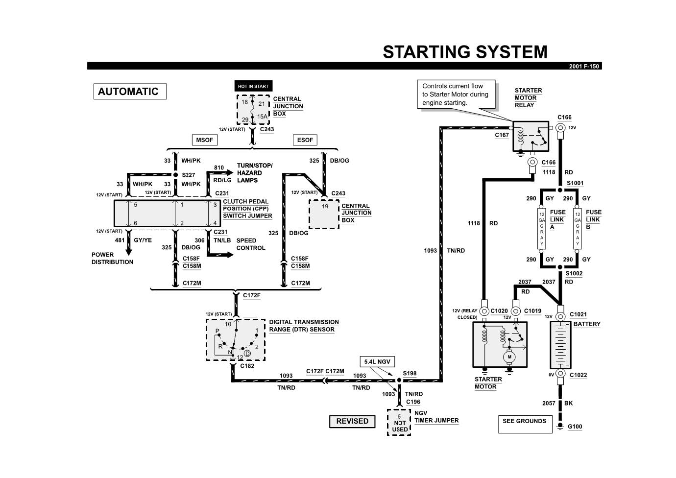 hight resolution of 1997 ford f150 spark plug wiring diagram with 2001 ford f150 v8the fuel pump plugs or