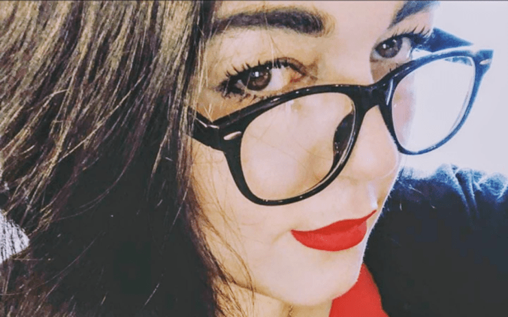 """Terpsehore """"Tore"""" Maras-Lindeman, a right-wing blogger, podcaster and former Minot, N.D., resident, has become an unlikely witness in two presidential election fraud complaints by White House-affiliated attorney Sidney Powell. Photo provided by Maras-Lindeman."""