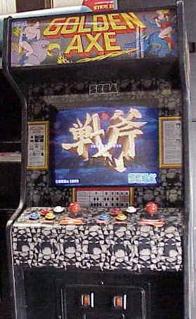The Golden Axe Resource Death Adders Castle Golden Axe Original Arcade Game