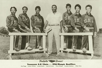 Womens History Month Before Title IX The Tigerbelles