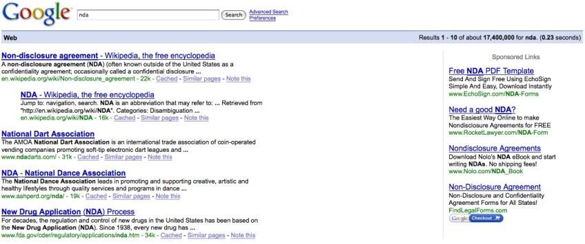 Nda Google Search Learn To Duck
