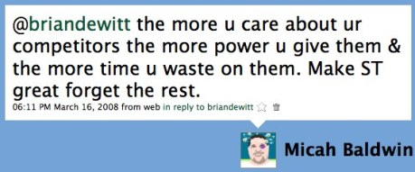Micah Responds To Brian DeWitt