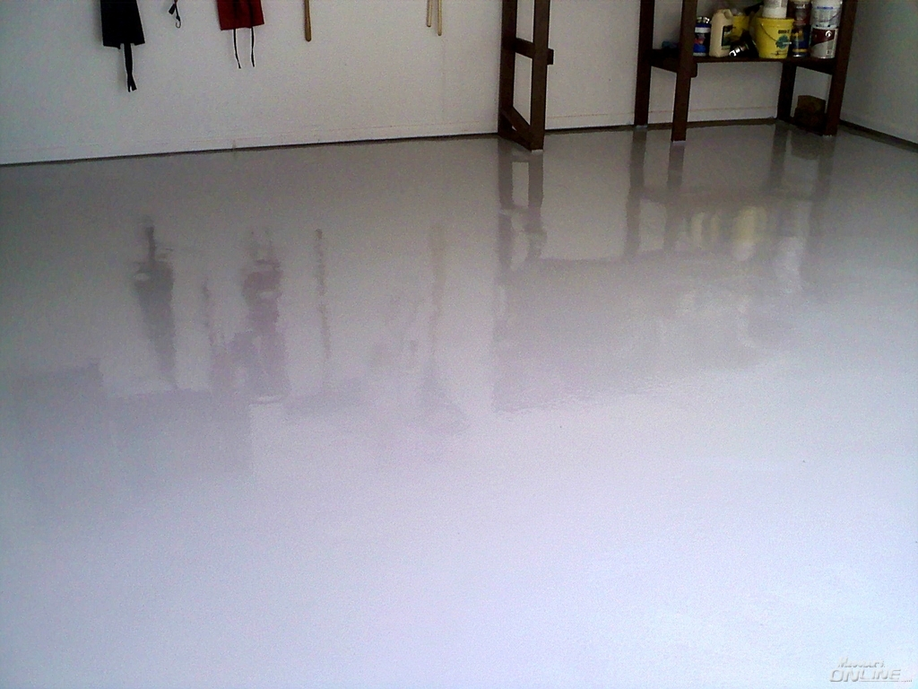 refinishing my garage floor