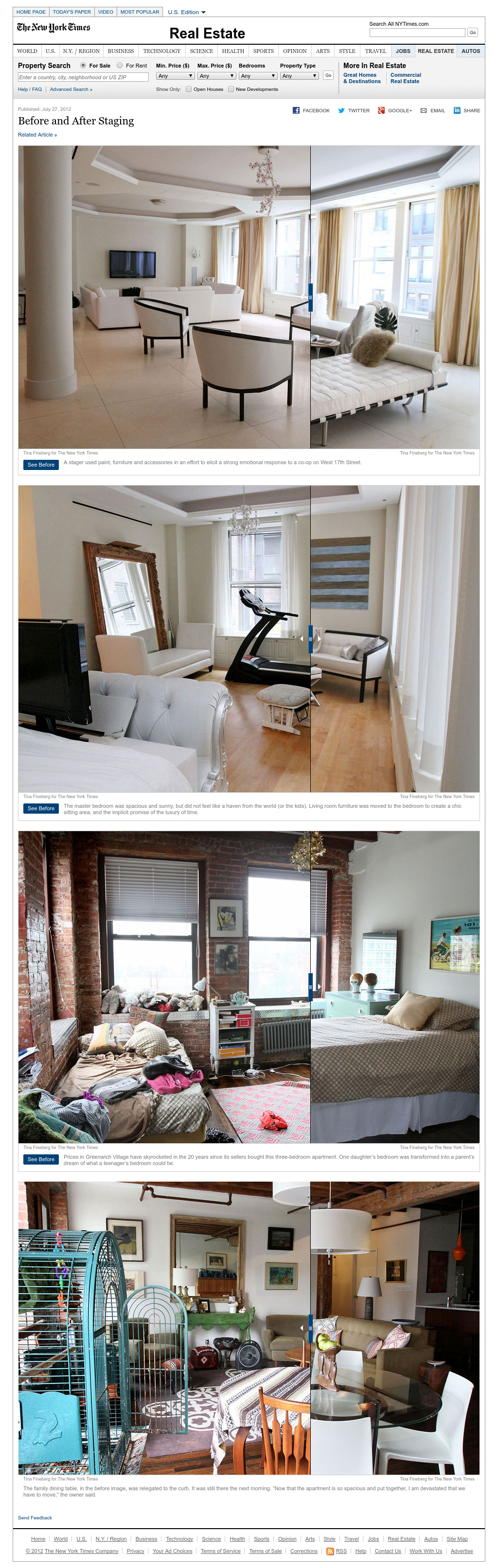 Before And After Staging Interactive Nytimes Com