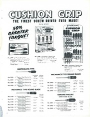 Bridgeport Tools [1959 Catalog] : Bridgeport Hardware