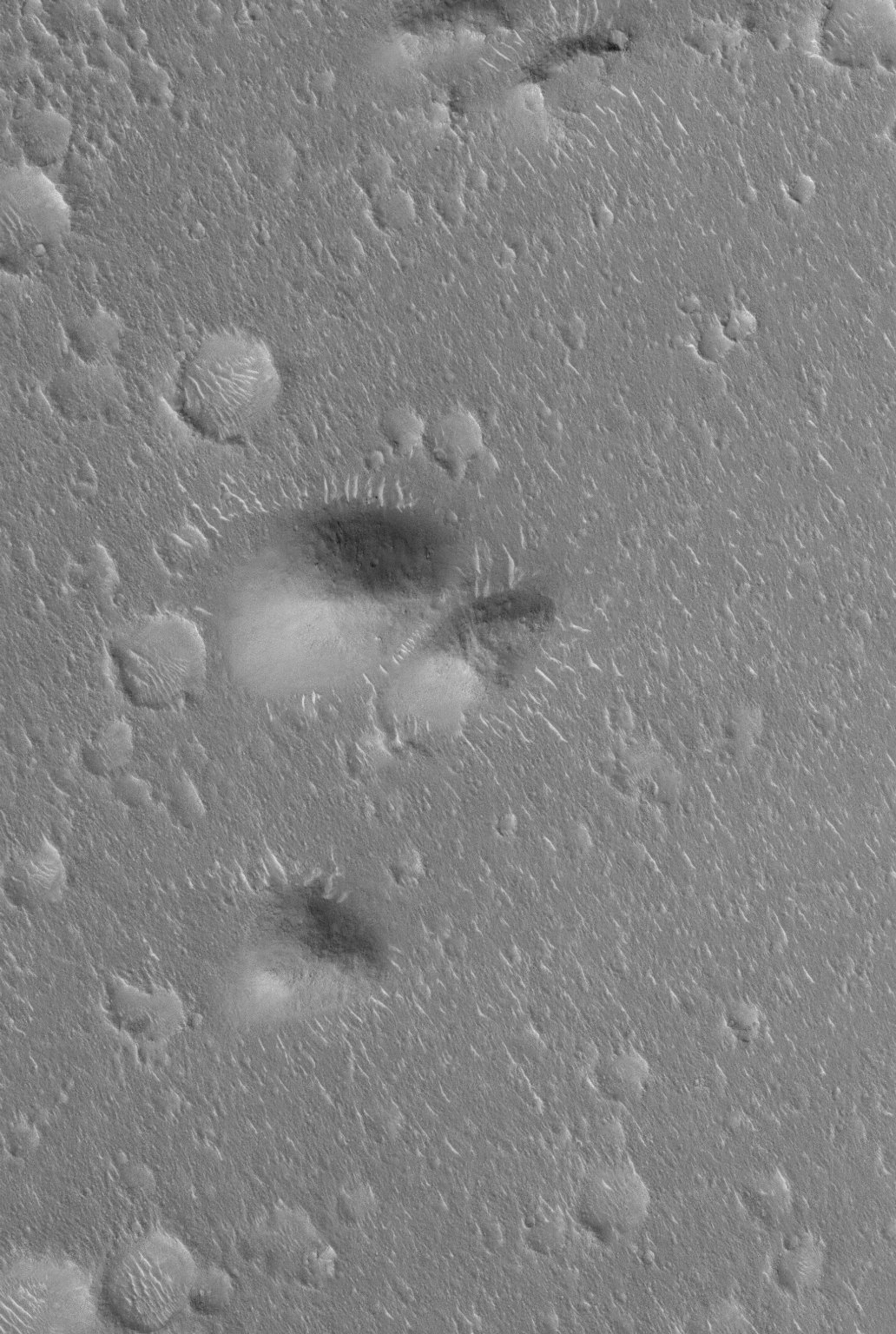 Isidis Landforms : NASA/JPL/Malin Space Science Systems