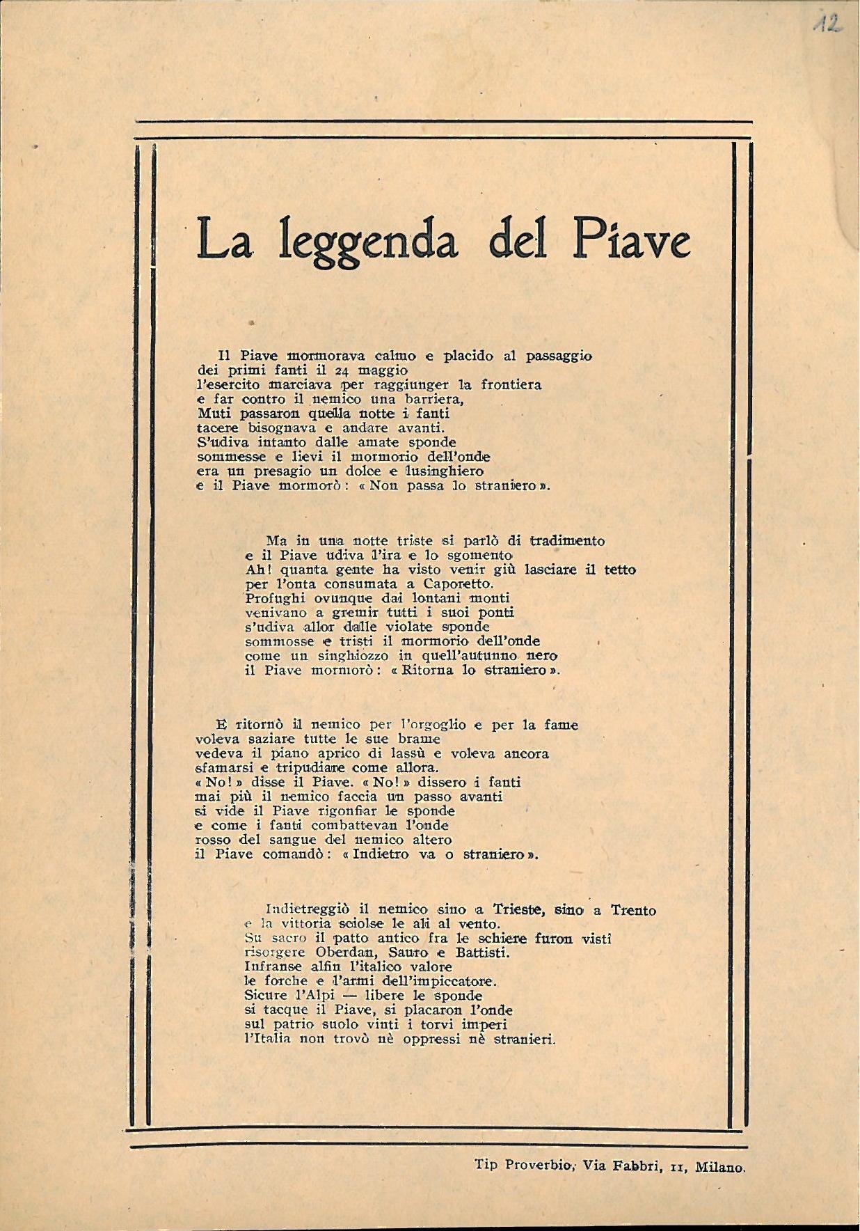 La leggenda del Piave  Free Download Borrow and