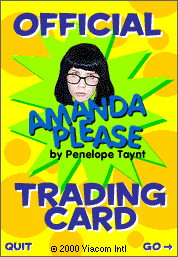 Amanda Show Penelope : amanda, penelope, Amanda, Trading, Cards, Nickelodeon, Download,, Borrow,, Streaming, Internet, Archive