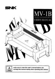 Neo Geo MVS NeoGeo 1 Slot MV-1B Users English : Free