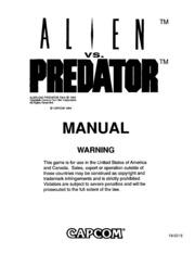 Alien Vs. Predator Operating Manual : Free Download