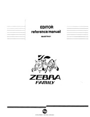 generalAutomation :: zebra :: 88A00779A01 EDITOR Reference