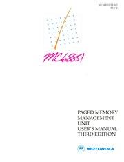 motorola :: 68000 :: 68851 PMMU Users Manual 3ed 1988