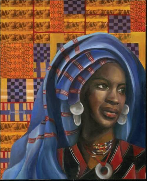 Lukisan Artistik Nana Asma'u 35 wanita muslimah penting dalam sejarah