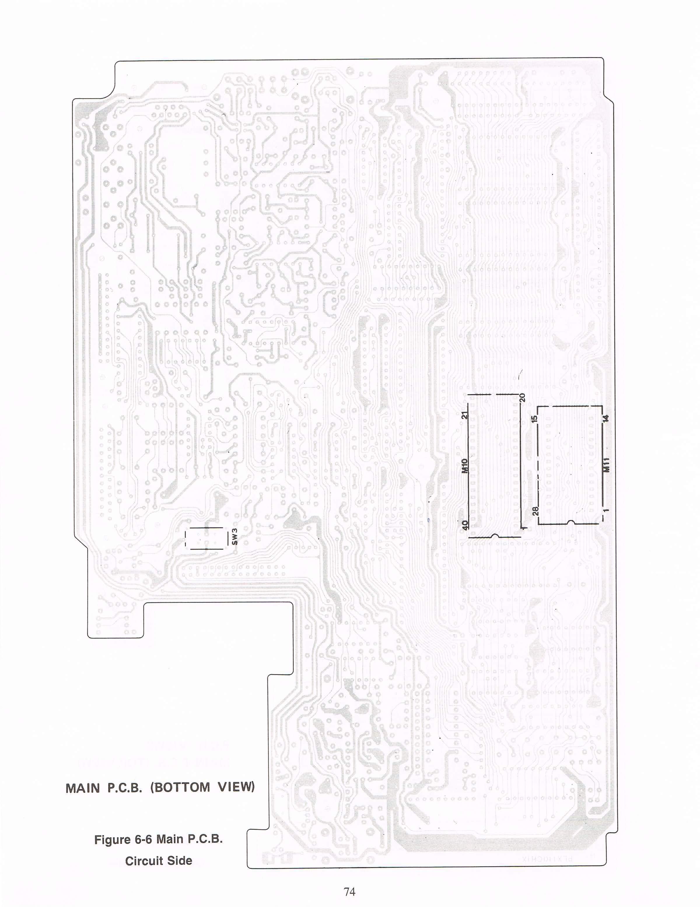 tandy_100_schematics : Tandy Corporation : Free Download