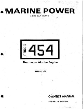 410_Commander_Crusader_454_Thermocon_Marine_Engine_Owners