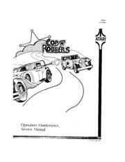Arcade Game Manual: Cops N' Robbers by Atari. : Free
